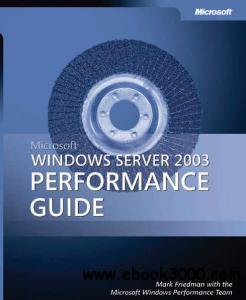 book cover Windows Server 2003 Performance Guide